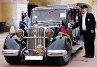 Ретро автомобіль Horch 1933