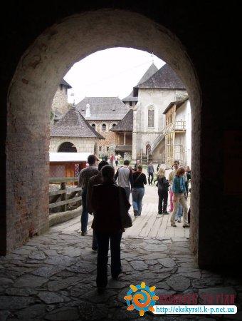 Вхід в хотинський замок