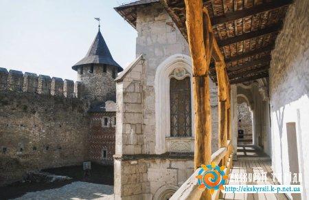 тераса в замку
